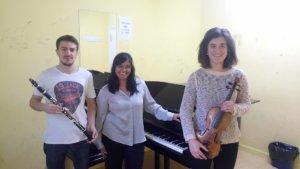 Conservatorio Superior de Música de Castilla y León COSCYL Alejandro García Bris + Paula del Pozo de Juan + Ria Garrido Ruiz Salamanca Abril 2018.