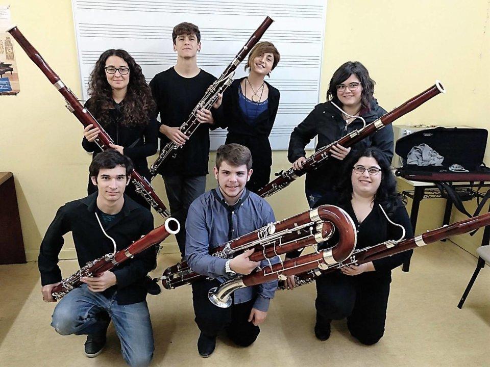 Casino de Salamanca Fagore Music Conservatorio Superior de Música de Castilla y León COSCYL Abril 2018