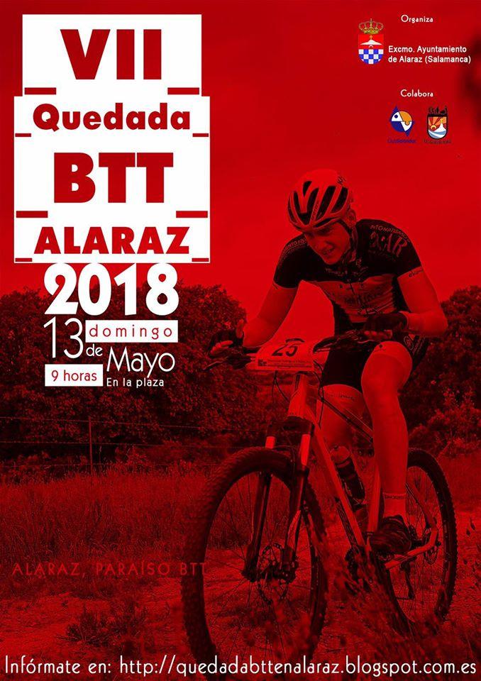 Alaraz VII Quedada BTT Mayo 2018