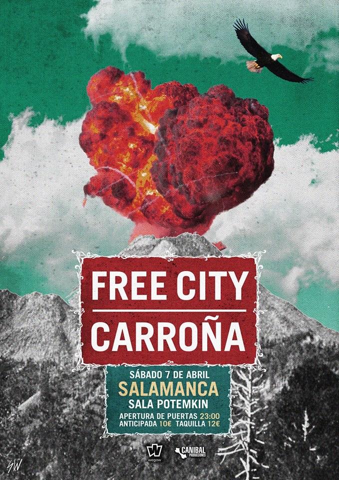 Potemkim Carroña + Free City Salamanca Abril 2018