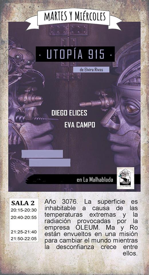 La Malhablada Utopía 915 Salamanca Abril 2018