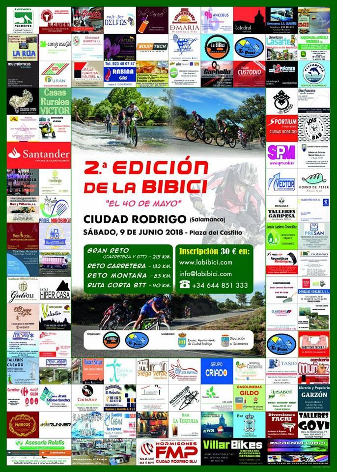 Ciudad Rodrigo La Bibici Junio 2018