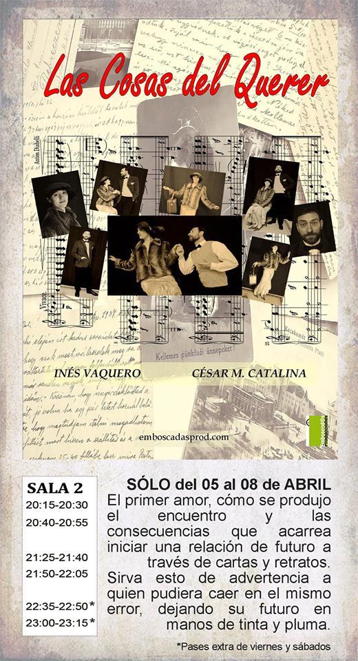 La Malhablada Las cosas del querer Salamanca Abril 2018