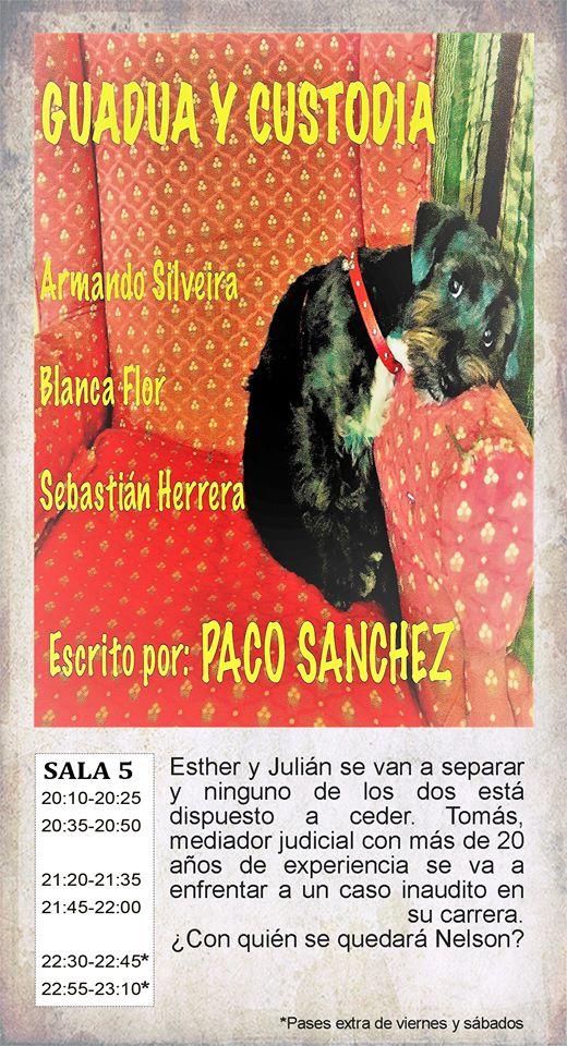 La Malhablada Guadua y custodia Salamanca Abril 2018