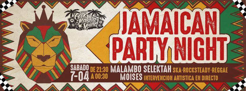 Le Garage MCC Jamaican Party Night Salamanca Abril 2018