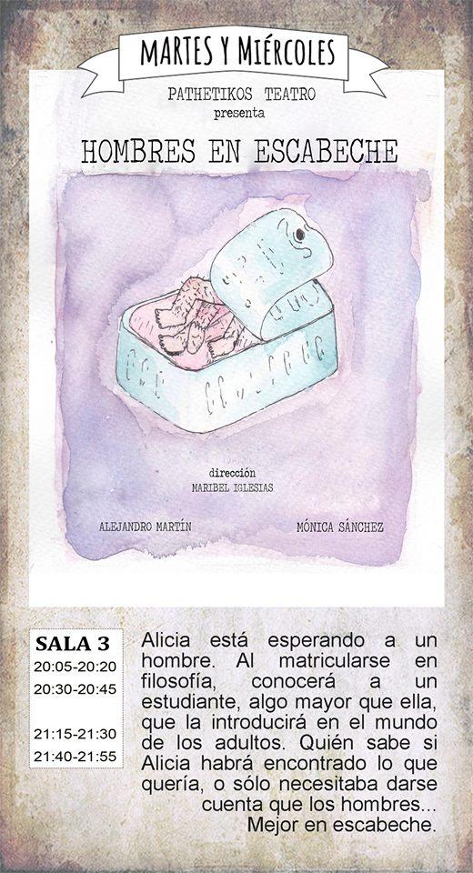 La Malhablada Hombres en escabeche Salamanca Abril 2018