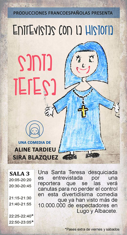 La Malhablada Santa Teresa Salamanca Abril 2018