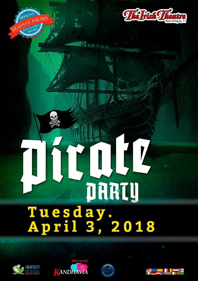 The Irish Theatre Pirate Party Salamanca Abril 2018