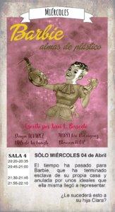 La Malhablada Barbie almas de plástico Salamanca Abril 2018