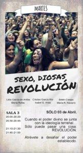 La Malhablada Sexo, diosas, revolución Salamanca Abril 2018