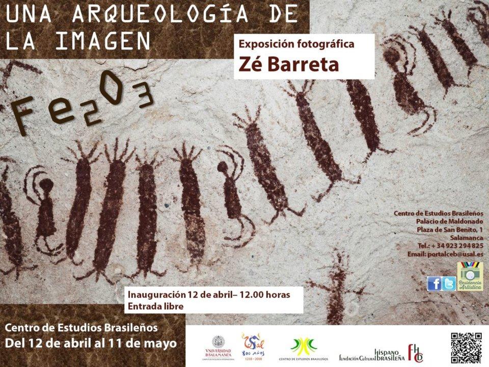 Centro de Estudios Brasileños Zé Barreta Fe2O3 - Una arqueología de la imagen Salamanca Abril mayo 2018