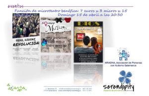 Serendípity Microteatro 7x3x15 Salamanca Abril 2018