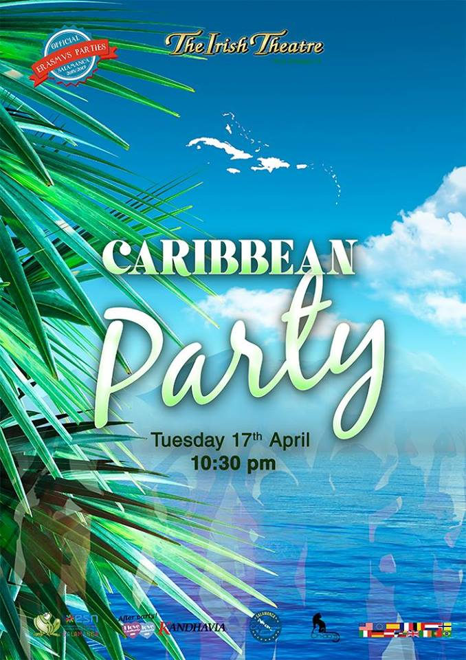 The Irish Theatre Caribbean Party Salamanca Abril 2018