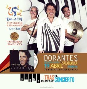 Aula Teatro Juan del Enzina Dorantes Salamanca Abril 2018