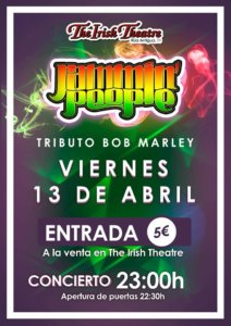 The Irish Theatre Jammin People Salamanca Abril 2018