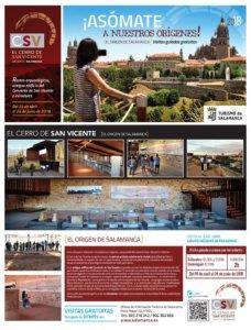 Presentación Cerro de San Vicente Visitas Guiadas Salamanca Abril mayo junio 2018