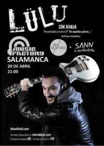 Music Factory Lülu Salamanca Abril 2018