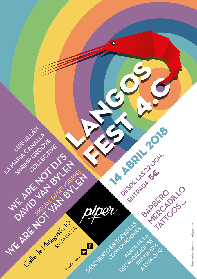 Piper Club Langos Fest 4.0 Salamanca Abril 2018