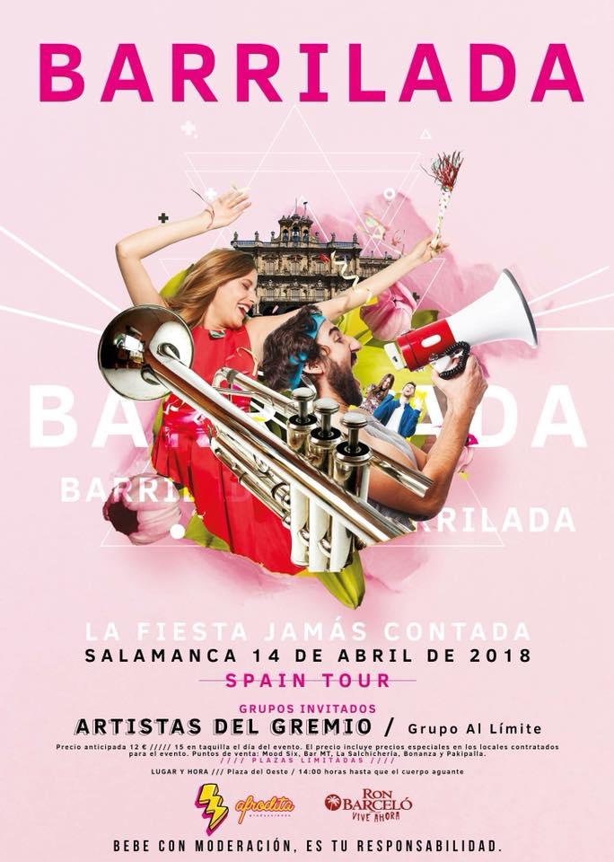 Plaza del Oeste Barrilada Salamanca Abril 2018