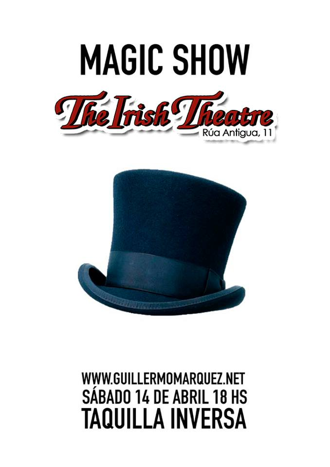 The Irish Theatre Guillermo Márquez Salamanca Abril 2018