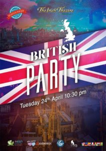 The Irish Theatre British Party Salamanca Abril 2018
