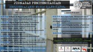 Facultad de Medicina Jornadas Penitenciarias Salamanca Abril 2018
