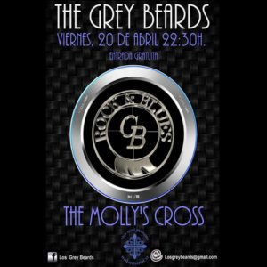The Molly's Cross The Grey Beards Salamanca Abril 2018