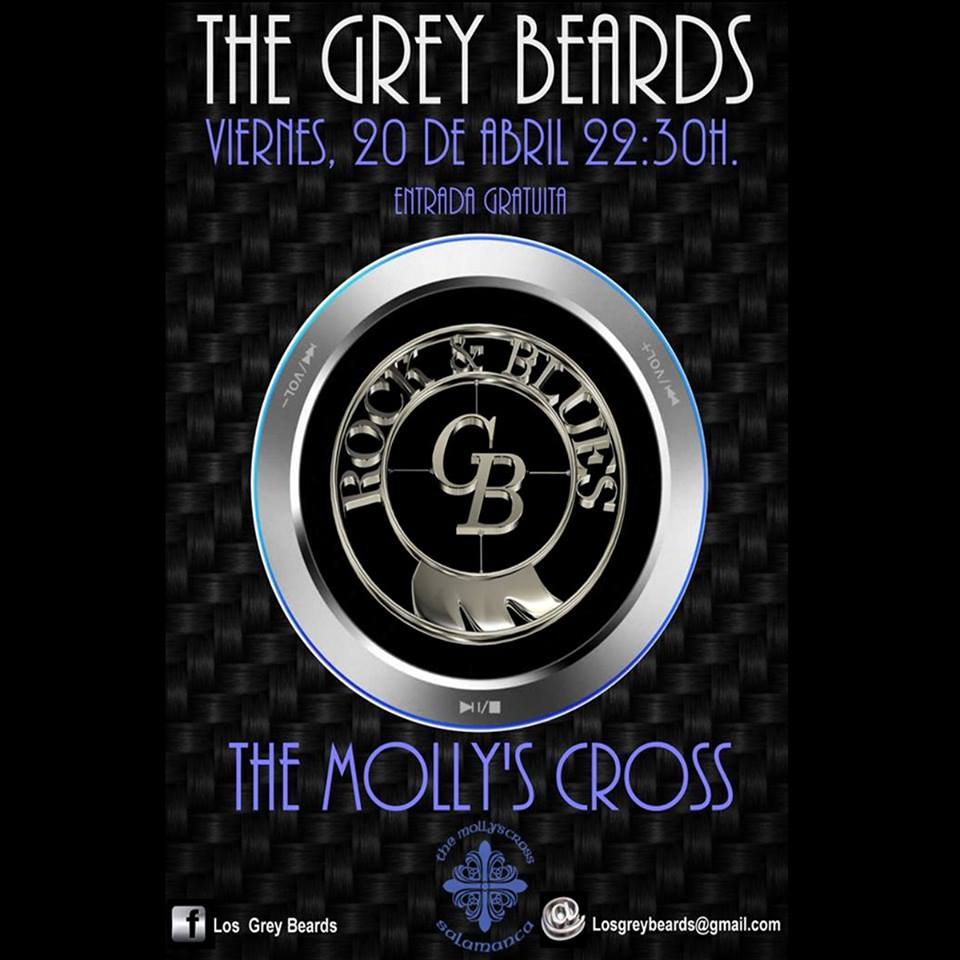 The Molly's Cross The Grey Beards Salamanca Abril 2018