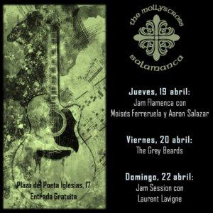 The Molly's Cross 19 al 22 de abril de 2018 Salamanca