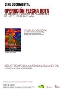 Casa de las Conchas Operación Flecha Rota Salamanca Abril 2018
