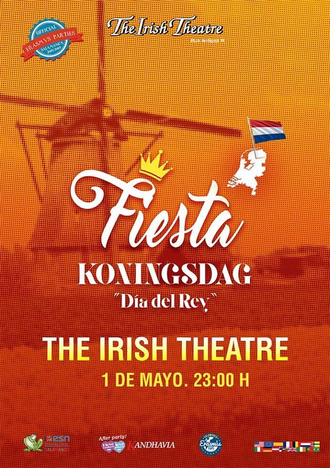 The Irish Theatre Fiesta Holandesa Salamanca Mayo 2018