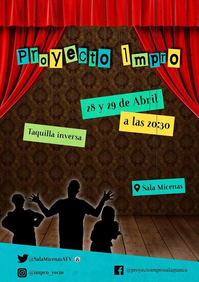 Sala Micenas Adarsa Proyecto Impro Salamanca Abril 2018