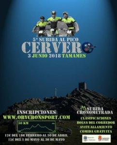 Tamames V Subida al Pico Cervero Junio 2018