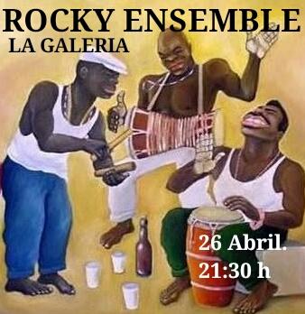 La Galería Rocky Ensemble Salamanca Abril 2018