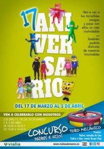 Centro Comercial Vialia XVII Aniversario Salamanca Abril 2018