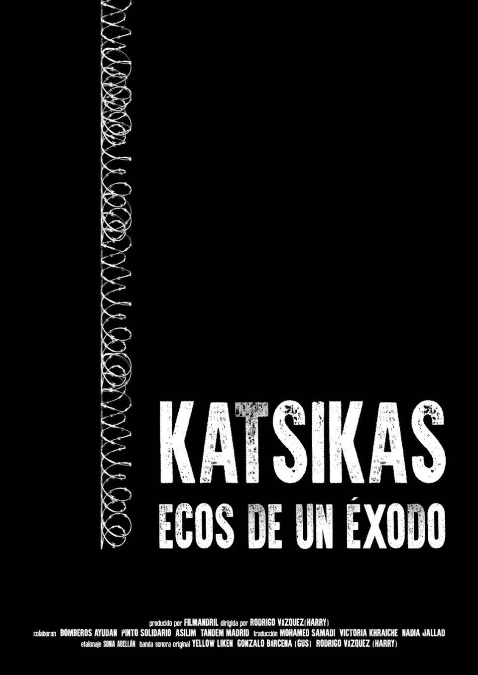 Espacio Almargen Katsikas Ecos de un éxodo Salamanca Abril 2018