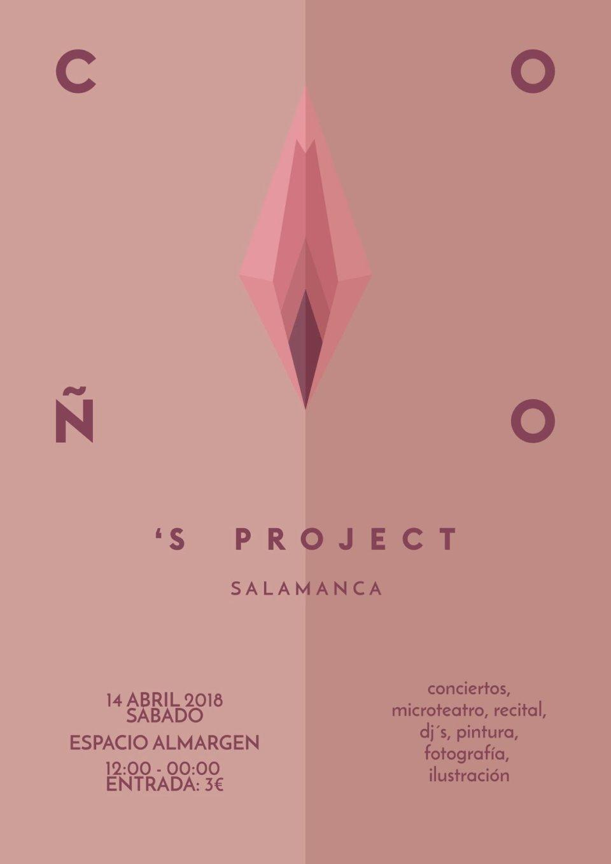 Espacio Almargen Festival Coño's Project Salamanca Abril 2018