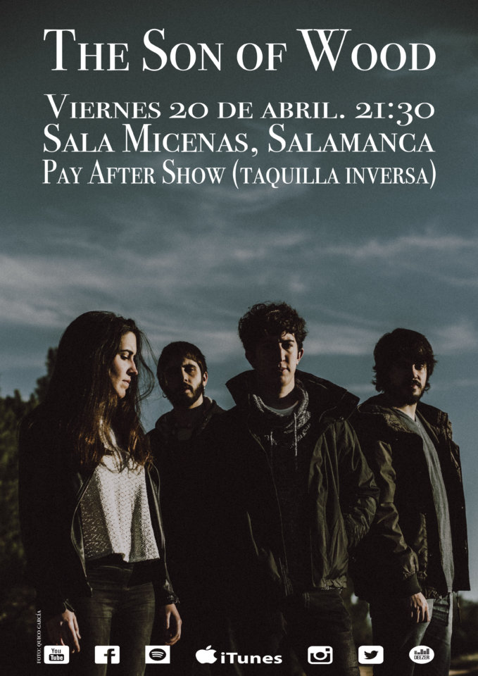 Sala Micenas Adarsa The Son of Wood Salamanca Abril 2018