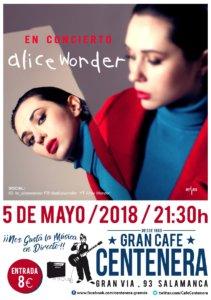 Centenera Alice Wonder Salamanca Mayo 2018