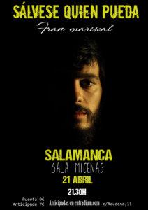 Sala Micenas Adarsa Fran Mariscal Salamanca Abril 2018