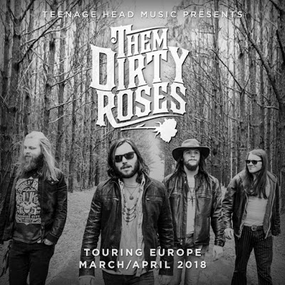 La Alquítara Them Dirty Roses Béjar Abril 2018