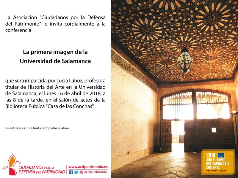 Casa de las Conchas La primera imagen de la Universidad de Salamanca Abril 2018
