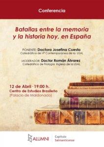 Palacio de Maldonado Josefina Cuesta Alumni-Usal Salamanca Abril 2018
