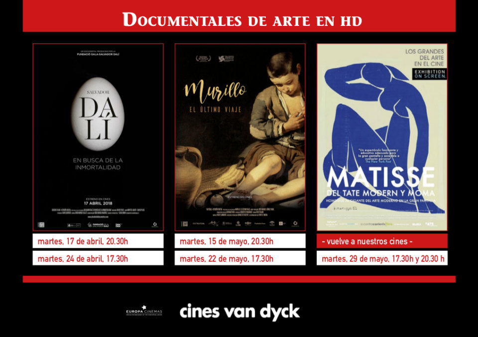 Cines Van Dyck Abril mayo 2018 Salamanca