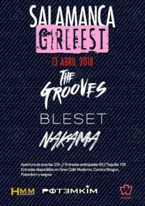 Potemkim Salamanca GirlFest Abril 2018