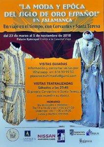 Palacio Episcopal La moda y época del Siglo de Oro español Salamanca 2018