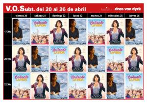 Cines Van Dyck Joven Filmo Van Dyck VOSE 20 al 26 de abril 2018 Salamanca