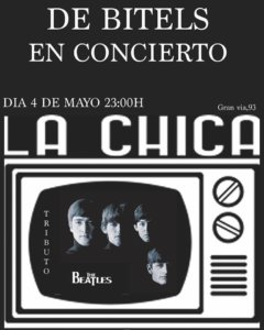 La Chica de Ayer De Bitels Salamanca Mayo 2018