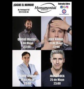 Pub Monumental Humor y magia Salamanca Mayo 2018