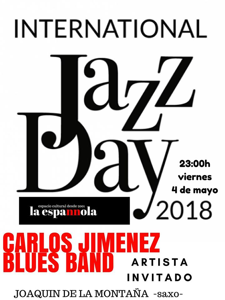 La Espannola Carlos Jiménez Blues Band Salamanca Mayo 2018